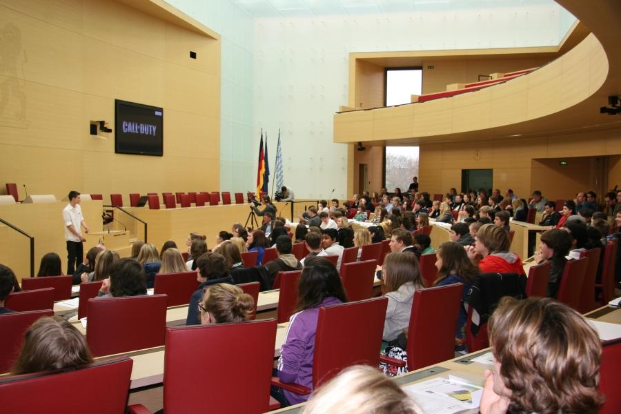 MyGames – Jugendtagung im bayerischen Landtag