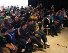 Publikum auf der Jugendtagung