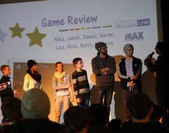 Die Jugendlichen aus dem MAX präsentieren ihre Game Reviews