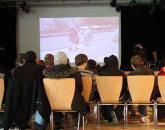 Präsentation des RealLifeMovies des Jugendtreff Dom@in aus Würzburg