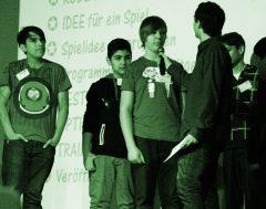 Die Präsentation der Spiele und Trailer auf der GamesLab Jugendtagung