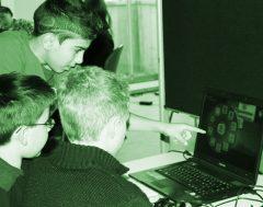 Ein eigener Workshop der Jugendlichen : Wie programmiert man Spiele mit Kodu