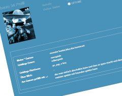 Authorenprofile auf der Review-Webseite