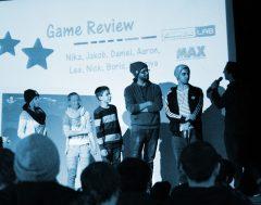 Präsentation der Videoreviews auf der GamesLab Jugendtagung