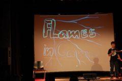 """Ralf erklärt, dass Konflikte auch innerhalb eines Spiels auftreten können und wie man mit diesen """"Flames in Games"""" umgeht"""