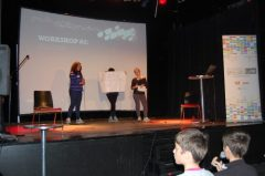 Die Präsentation der Workshopergebnisse…