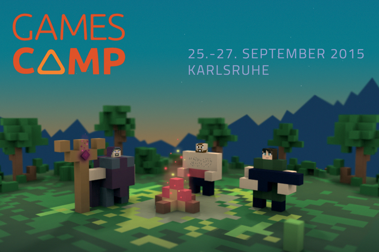 Gamescamp 2015 – Anmeldung läuft!