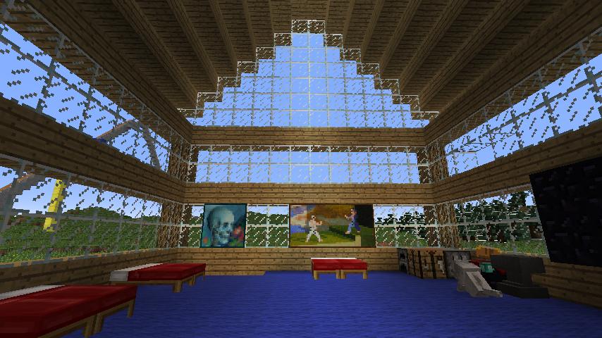 Workshop: Minecraft - Zukunftsstadt Ergebnisse