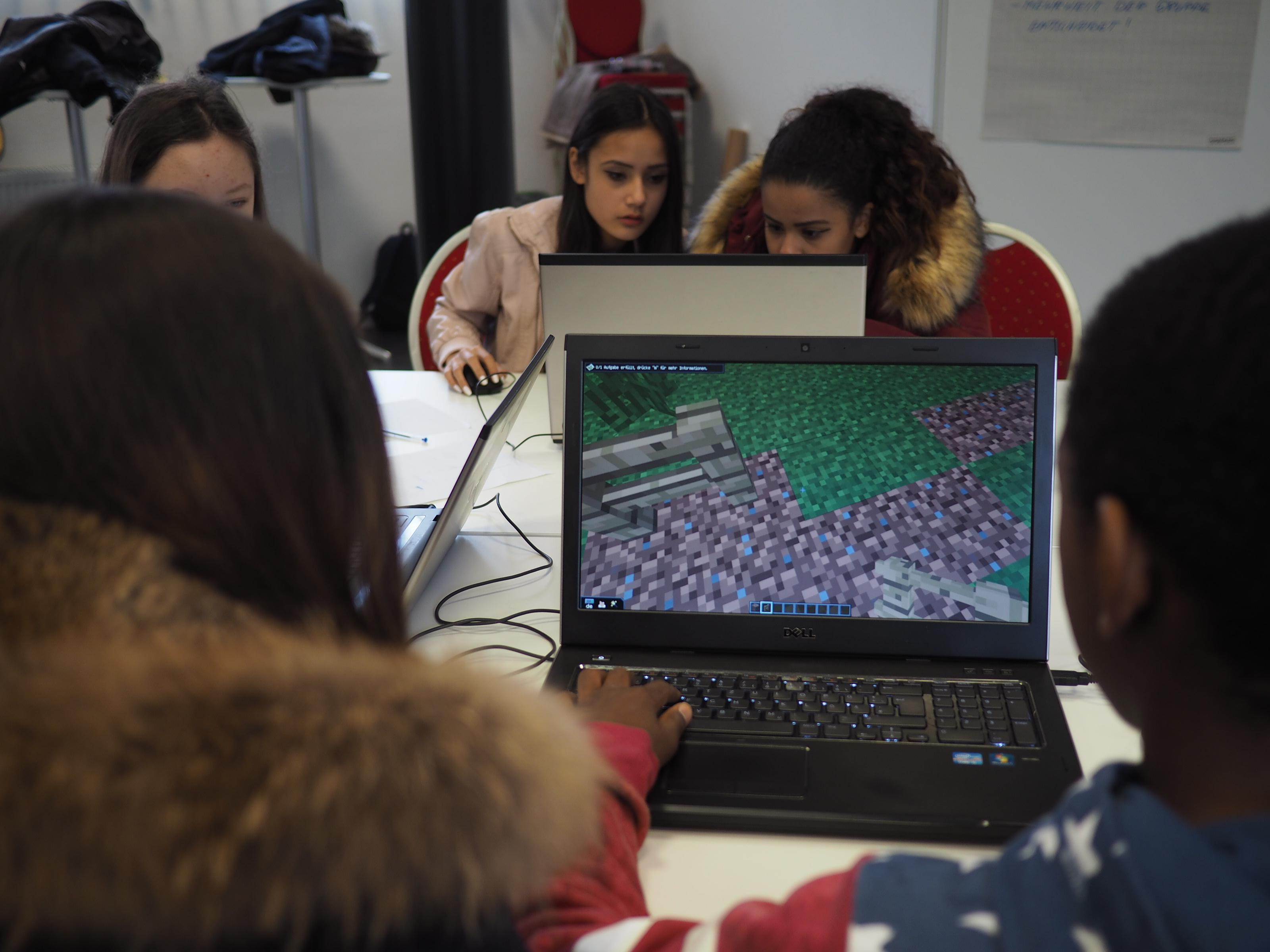 Workshop: Minecraft – Zukunftsstadt