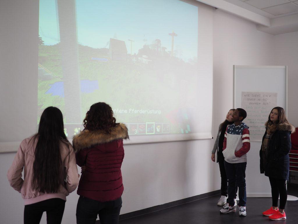Minecraft Wettbewerb Zukunftsstadt Präsentation 3
