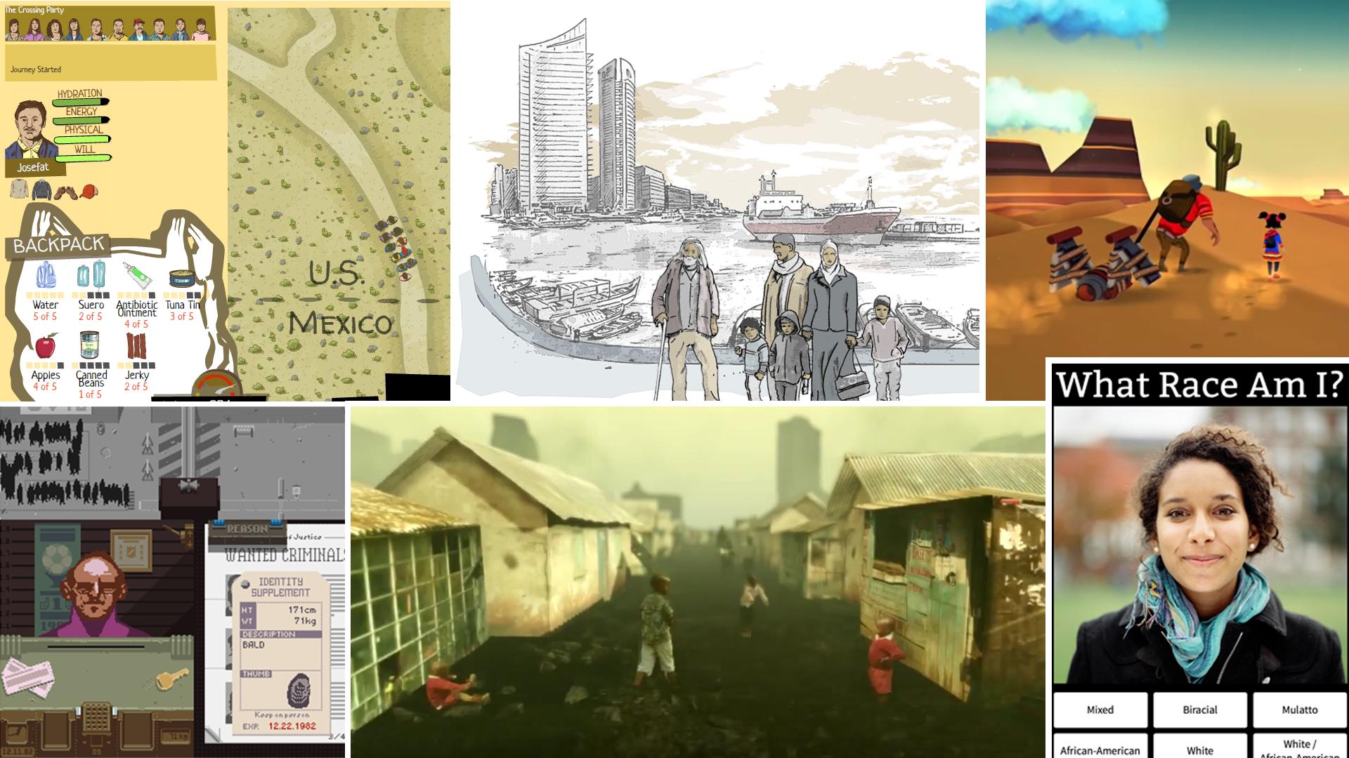 Computerspiele zum Thema Flucht und Asyl