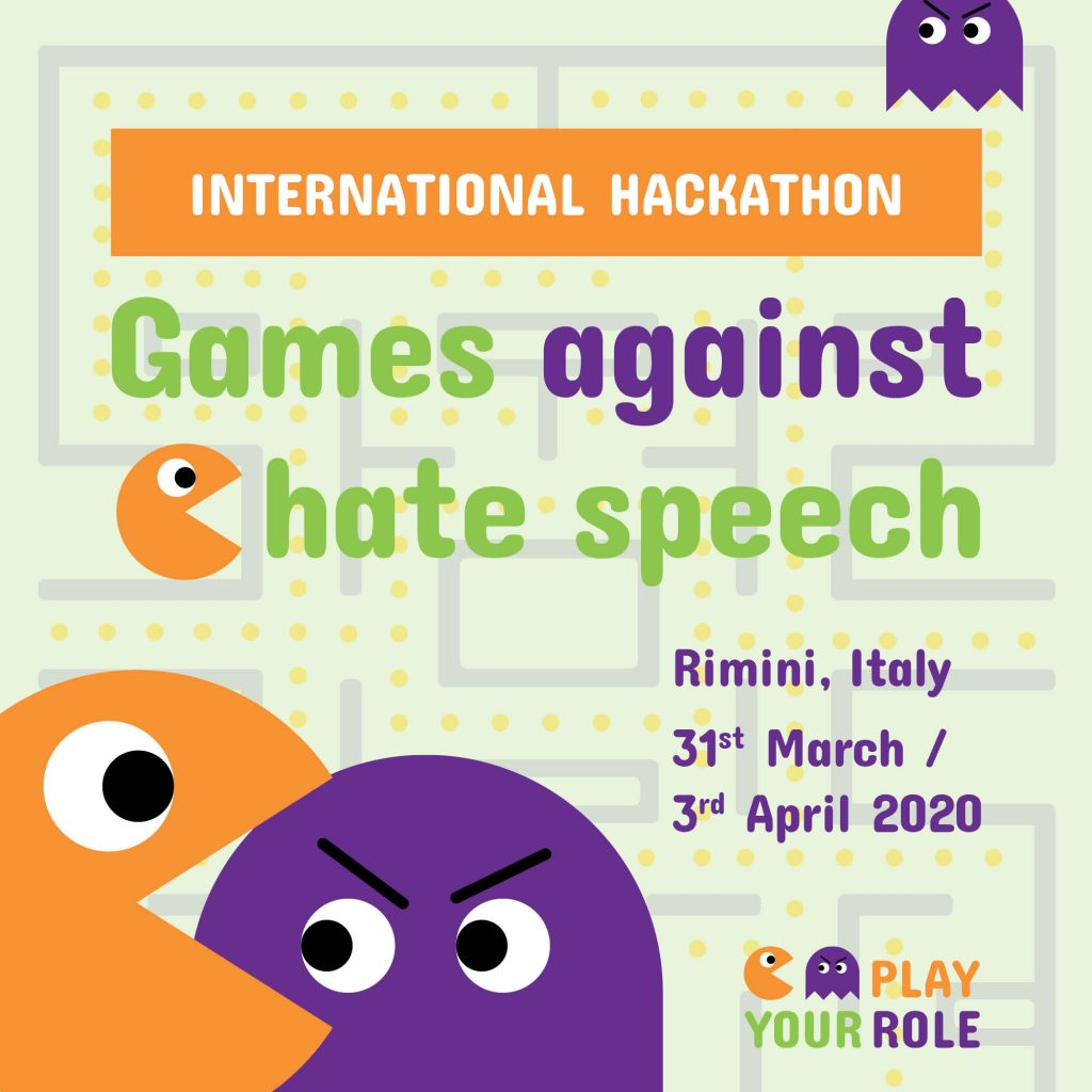 Play Your Role Hackathon in Rimini, Italien, 31.3.-3.4.2020